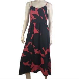 Loft Dress 10 Tall Floral Long Sundress NWOT